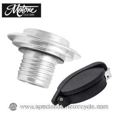 Kit Tappo Serbatoio Motone Custom Monza per BMW Black