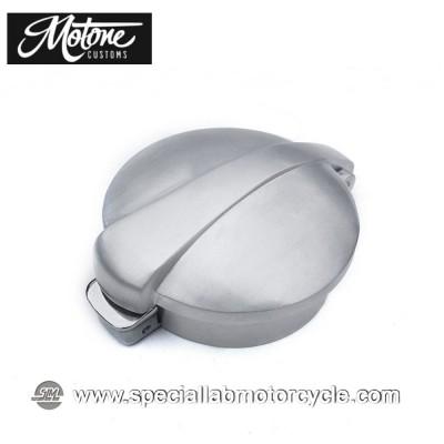 Tappo Serbatoio Motone Custom Monza Alluminio Spazziolato