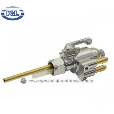 Rubinetto benzina K&L in Metallo per Honda CB/CL/SL