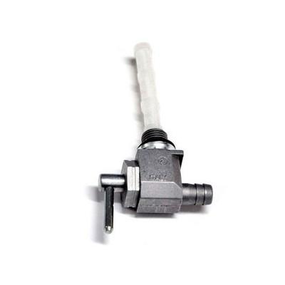 Rubinetto Benzina in Alluminio M10x1 Uscita Interna 8mm