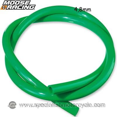 MOOSE RACING TUBO BENZINA GREEN 4,8mm X 91,5cm