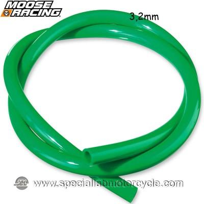 MOOSE RACING TUBO BENZINA GREEN 3,2mm X 152,5cm