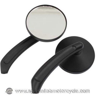 Specchietti Retrovisore Rambli'n Round Set Black