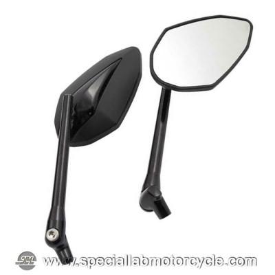 Specchietti Retrovisore Double Deuce Black Head & Steam Set