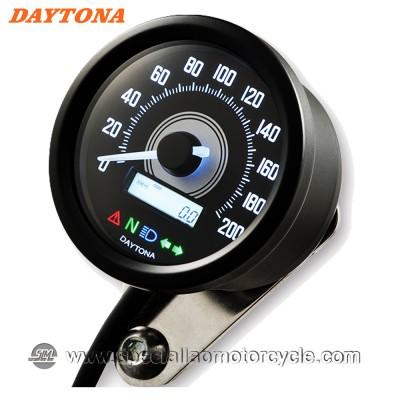 Contachilometri Elettronico Daytona Velona 2 60mm Retro