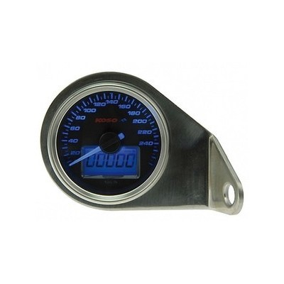 Contachilometri Elettronico Koso GP Classic Luce Blu 260Km/h