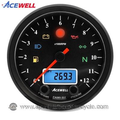 Strumento Multifunzione Analogico Digitale Acewell ACE-CA085-351/451/551/651 - AS/AC Series