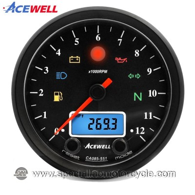 Strumento Multifunzione Analogico Digitale Acewell ACE-CA085-351/451/551/651 - AS/AC Series