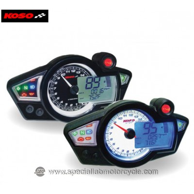 Contagiri Multifunzione Digitale Koso RX-1N GP Style