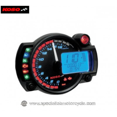 Koso Contagiri Multifunzione Digitale RX-2N GP-Style