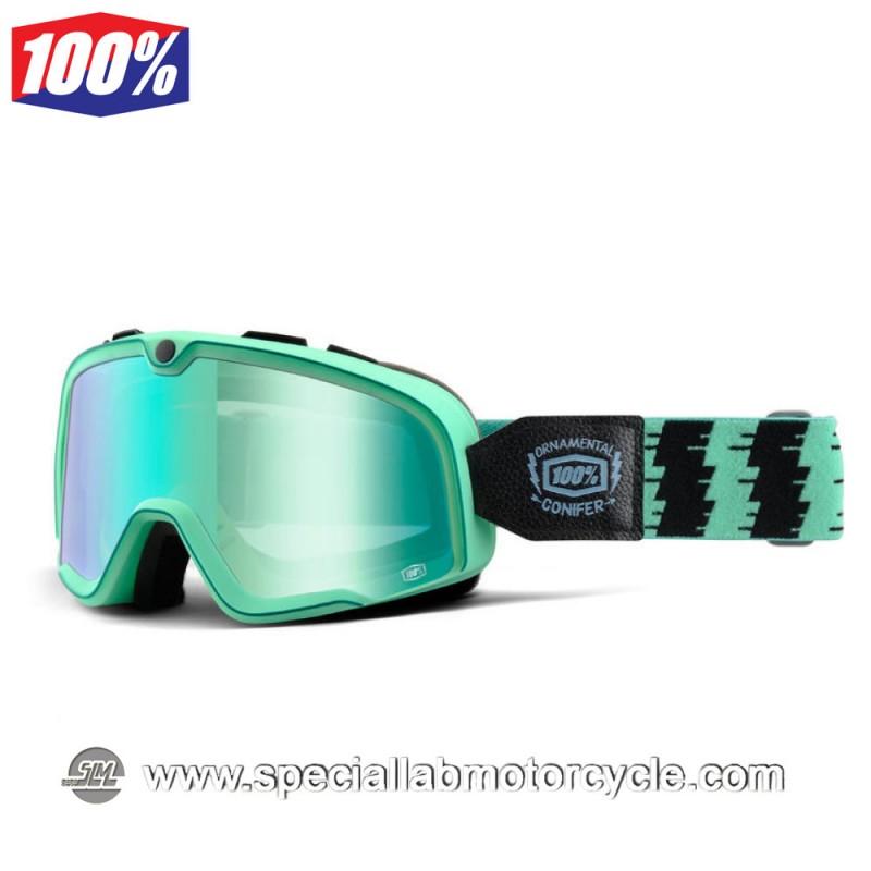 Maschera 100% Barstow Cyan Blue Lens