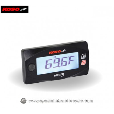 Koso Misuratore di Temperatura Ambiente Digitale Mini 3
