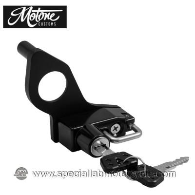 Motone Custom Lucchetto Porta Casco per Triumph