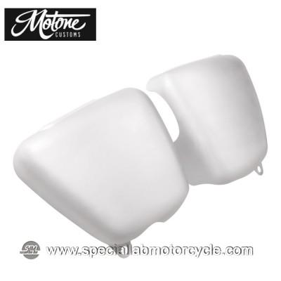 Motone Custom Fianchetti per Triumph Alluminio Spazzolato
