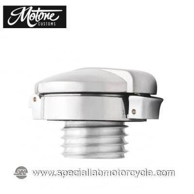 Motone Custom Kit Tappo Serbatoio Benzina Monza Triumph Models Alluminio Lucidato