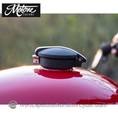 Motone Custom Kit Tappo Serbatoio Benzina Monza Triumph Models Alluminio Contrast Cut