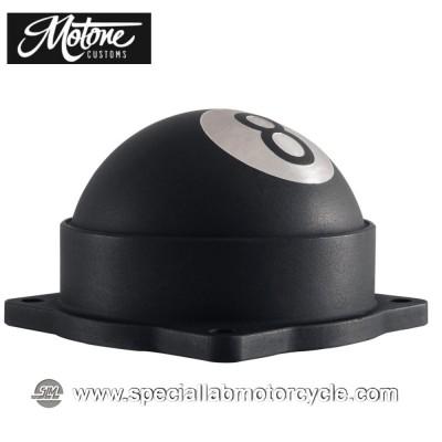 Motone Custom 8 Ball Cover Carburatore Triumph