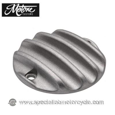 Motone Custom Cover Points Triumph Ribbed Shotblast
