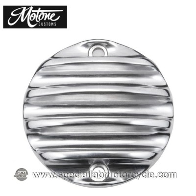 Motone Custom Cover Points Triumph Ribbed Lucidato