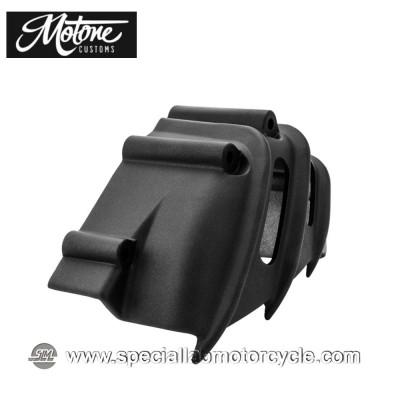 Motone Custom Cover Pignone Triumph Alluminio Nero