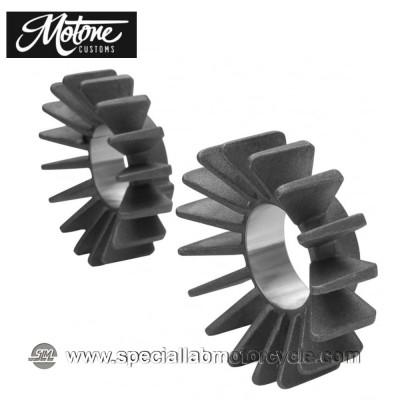 Motone Custom Alette per Collettori di Scarico Triumph