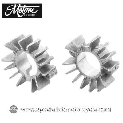 Motone Custom Alette per Collettori di Scarico Triumph Raw