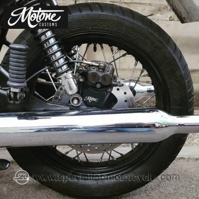 Motone Custom Staffa Riposizionamento Pinza Freno Posteriore Triumph