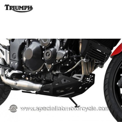 Piastra Paramotore Ibex per Triumph Tiger 1050 Black