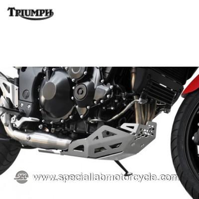 Piastra Paramotore Ibex per Triumph Tiger 1050 Silver