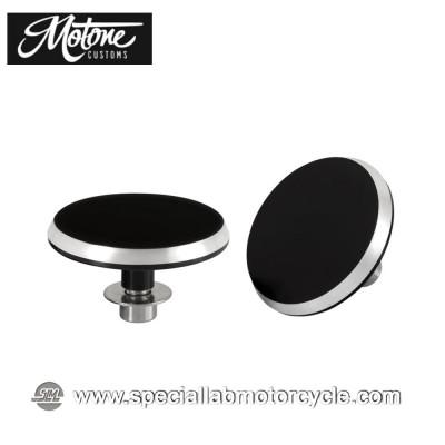 Motone Custom Tappi Pedane Passeggero Triumph