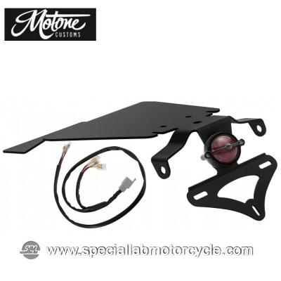 Motone Custom Kit Portatarga e Fanalino Posteriore Bel Air Tail Tindy per Triumph
