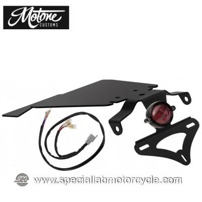 Motone Custom Kit Portatarga e Fanalino Posteriore Eldorado Tail Tindy per Triumph