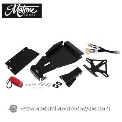 Motone Custom Tail Tidy Kit Portatarga e Fanalino Posteriore Led Lucas per Triumph