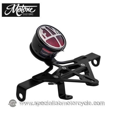 Motone Custom Kit Portatarga e Fanalino Posteriore FTW per Triumph