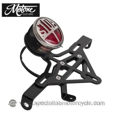 Motone Custom Kit Portatarga e Fanalino Posteriore Classic per Triumph