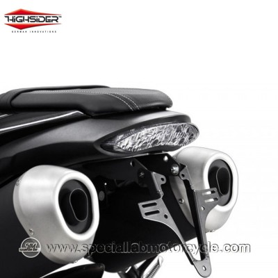 Portatarga moto Highsider Triumph 1050 Speed Triple 2016 - 2019