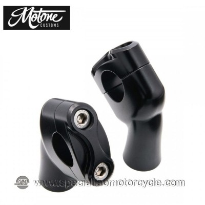 Motone Custom Kit Up-And-Over Riser per Triumph Models 1""