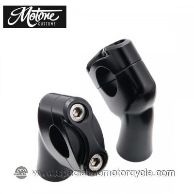 "Motone Custom Kit Up-And-Over Riser per Triumph Models 1"""