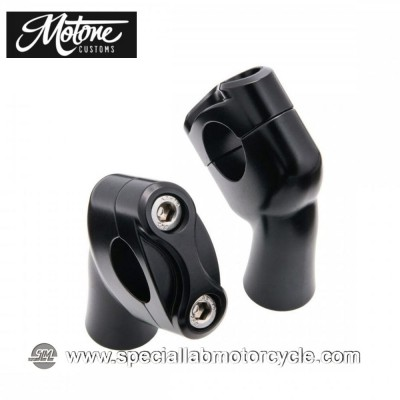 "Motone Custom Kit Up-And-Over Riser per Triumph Models 7/8"" 22mm"