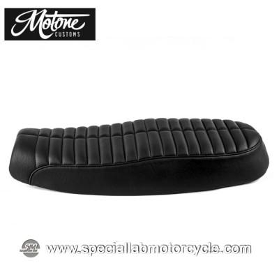 Motone Custom Sella Bonneville Dual Seat Rattlesnake Triumph
