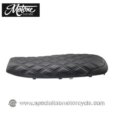 Motone Custom Sella Bonneville Black Mamba Skinniy Triumph