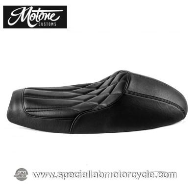 Motone Custom Sella Bonneville Cafè Racer Diamond Black Triumph