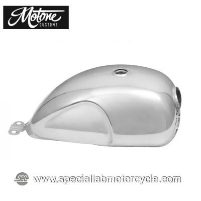 Motone Custom Serbatoio in Alluminio Grezzo per Triumph models