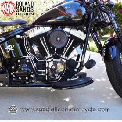Roland Sands Design Clarity Cam Covers Contrast Cut Model Harley Davidson Electra Glides FLHT/FLHR/FLHX/FLTR dal 2001 al 2014