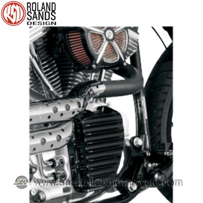 Roland Sands Design Nostalgia Timing Covers Black Ops Model Harley Davidson Twin Cam dal 2001 al 2014