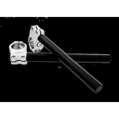 "Semimanubri RSD Black Crome 25mm (1"")"