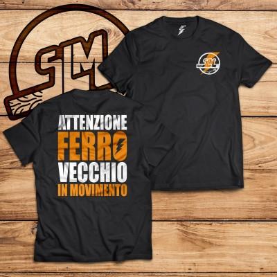 T-Shirt Moto SLM Mood Ferro Vecchio