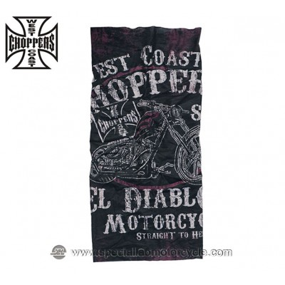 SCALDACOLLO TUNNEL WEST COAST CHOPPERS EL DIABLO