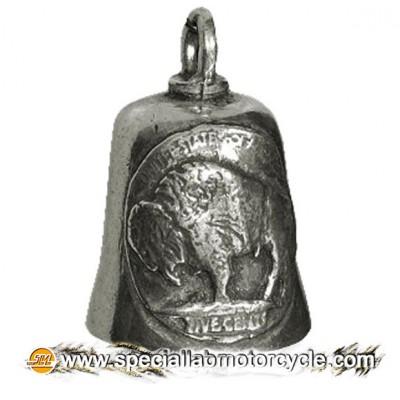 Moto Gremlin Bell Buffalo Head Nickel