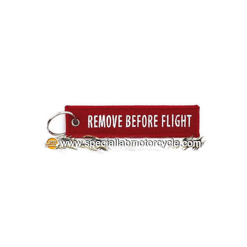 Portachiavi Moto Remove Before Flight